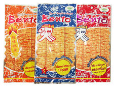 BENTO SQUID 3 PACK x 6GRAM THAI CHILI&ROAST & SWEET-SPICY FLAVOR SEAFOOD SNACK