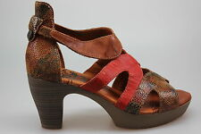 """THINK!  Sandaletten """"Jacky"""" kastanie/kombi  Gr. 37"""