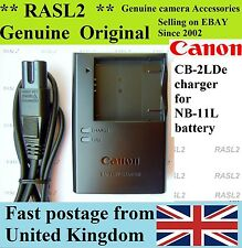 Genuine Original CANON Charger CB-2LDe NB-11L IXUS 240 hs 132 133 135 140 147 is