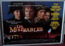 Cinema Poster: LES MISERABLES 1998 (Quad) Liam Neeson Geoffrey Rush Uma Thurman