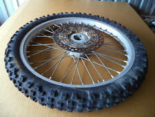 """1993 93' Suzuki RM250 RM-250 / 21"""" FRONT WHEEL WITH ROTOR"""