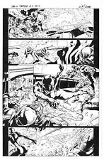 MARVEL BLACK PANTHER #7 PAGE 15 ORIGINAL ART by WILL CONRAD