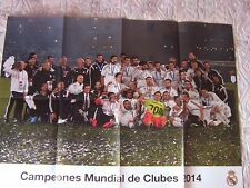 POSTER REAL MADRID  CAMPEON MUNDIAL DE CLUBES 2014