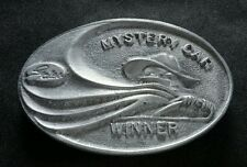GATES MYSTERY CAR WINNER VINTAGE LIMITED EDITION BELT BUCKLE
