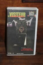 VHS Le visiteur d'outre tombe + Les enfants de la pleine lune Hammer house Vol 4