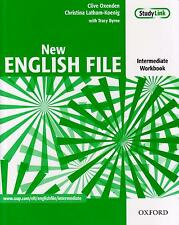 OXFORD NEW ENGLISH FILE Intermediate Level WORKBOOK without key @NEW@