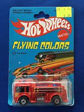 1975 Hot Wheels Fire-Eater #11 Flying Colors Blackwall MOC Nice!