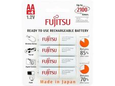 Fujitsu  AA  Ni-MH Pre-Charged Rechargeable Batteries 2000mAh  4-Unit(Made in Ja