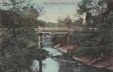 Postcard South Bridge Moville Iowa IA