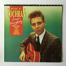 Eddie Cochran - C'mon Everybody - 1988 UK - Liberty - ECR 1 - Vinyl LP
