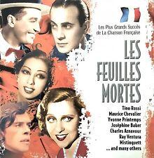 Les Plus Grands Succès De La Chanson Française CD Les Feuille Mortes - France