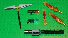 LEGO - THE LEGEND OF CHIMA - Minifig, Weapon Lot - 7 Minifig Weapons
