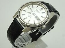 Vintage 1969 JAPAN KING SEIKO WEEKDATER  5626-7000 25Jewels Automatic.