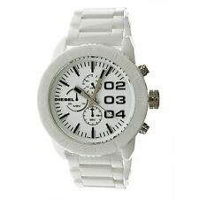 Diesel Men's White Ceramic Chronograph Watch