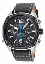 Bulova Men's 98B226 Precisionist Analog Display Japanese Quartz Black Watch