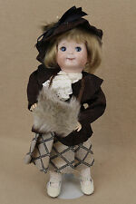 "12"" antique reproduction German Kestner Googly Doll by artist Madelyn Baughman"