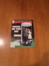 Newsweek Magazine Drugs On The Job August 22 1983 Drought of '83 Kaddafi