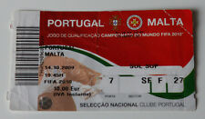 old TICKET World Cup 2010 q * Portugal - Malta in Guimaraes