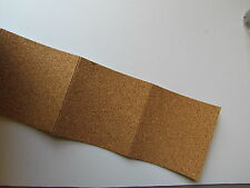 "100 Blank Adhesive Backed Cork for Coasters - 4"" x 4"" - D  (Tile Stone Drink)"