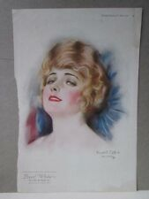 Vintage Print,PEARL WHITE,Haskell Coffin,Pictorial Review,June 1920