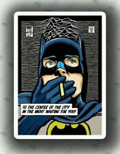 Batman Sticker Card Art Laptop Locker Skateboard 420 Bong Comic Gift Present