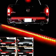 "60"" Long 5 Functions Full LED Rear Brake Reverse Truck Tailgate Light Strip Bar"