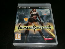 BLADES OF TIME SONY PS3 BRAND NEW FACTORY SEALED