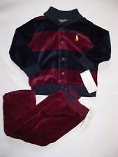 NEW Ralph Lauren Boys Cardigan Jacket Trousers Outfit Tracksuit Suit 3-6 m