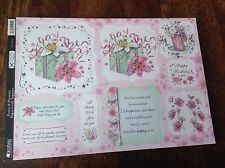 Kanban ~ Posies & Presents ~ Foiled & Die-Cut Topper Sheet ~ PERFECT