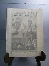 Ballanche Inès de Castro Envoi de Frainnet Beau papier Portugal