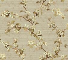 DC1302 Apple Blossom Oriental Floral Wallpaper