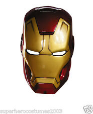 Iron Man 3 Mark 42 Child Vacuform Mask Marvel Comics Brand New PC