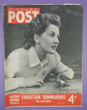 Picture Post Magazine May 3rd 1947, Includes Anne Crawford & Her Greyhounds