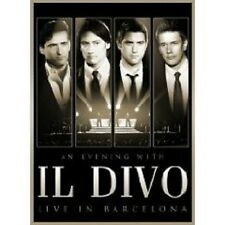 "IL DIVO ""AN EVENING WITH IL DIVO LIVE IN.."" BLU RAY NEU"