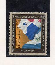 El Salbador Banderas valor del año 2004 (CU-994)