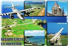 WW2 - CP -  Débarquement en Normandie - 5 vues