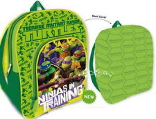 Officiel Teenage Mutant Ninja Turtles École Sac à dos poche avant & shell couverture
