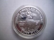 North American Hunting Club Big Game super slam 1oz silver Pronghorn Antelope