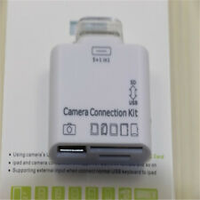 5 in1 Camera USB Connection Kit SD TF Card Reader Adapter For Apple iPad 2 3 RJ