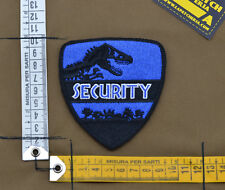 "Ricamata / Embroidered Patch Jurassic Park ""Security"" with VELCRO® brand hook"