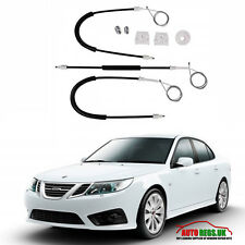 Saab 9-3 93 NSF Front Left Electric Window Regulator Repair Kit 2003 - 2012