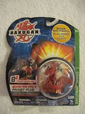 Bakugan Pyrus (Red) Dragonoid NAGA New Sealed Booster Pack - B2 BakuSwap RETIRED