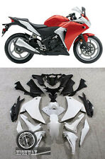 Fairings Kits ABS Plastic For Honda CBR250R Red Silver CBR 2011 2012 2013 LUQIAO