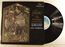 gliere 2lp ilya murometz symphony no. 3  harold farberman  pcm 500/1 vg++/m-
