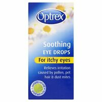 OPTREX SOOTHING EYE DROPS FOR ITCHY EYES - 10ML