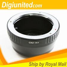 Olympus OM mount lens to Nikon 1 mount J1 J2 J3 V1 V2 N1 Digital Camera Adapter