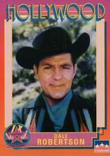 Dale Robertson, Actor, Hollywood Star, Walk of Fame Trading Card -- NOT Postcard