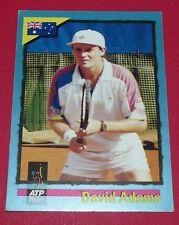 ATP TOUR CARD TENNIS 1995 DAVID ADAMS AUSTRALIA PANINI CARDS