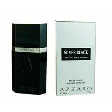 AZZARO SILVER BLACK POUR HOMME EDT VAPO NATURAL SPRAY - 50 ml