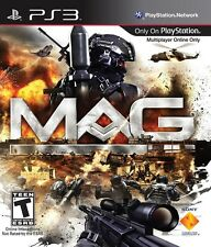MAG Sony Playstation 3 PS3 Game - Factory Sealed- Brand New